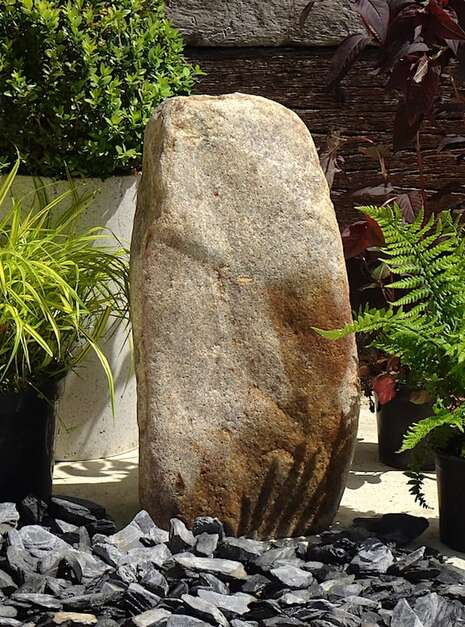 Stone Monolith SM151 Water Feature   Welsh Slate Water Features 04