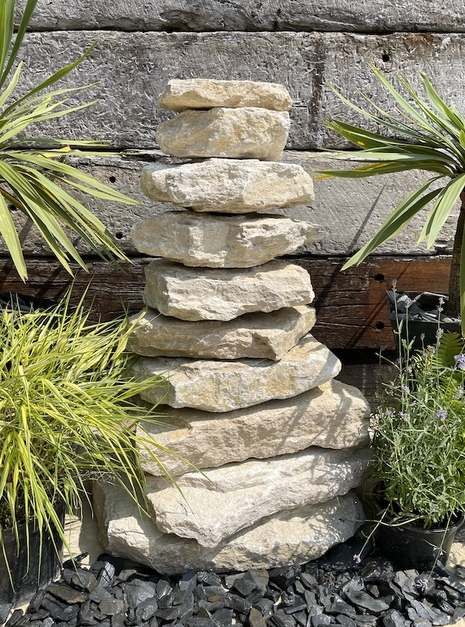 Stone Stack Water Feature SS5
