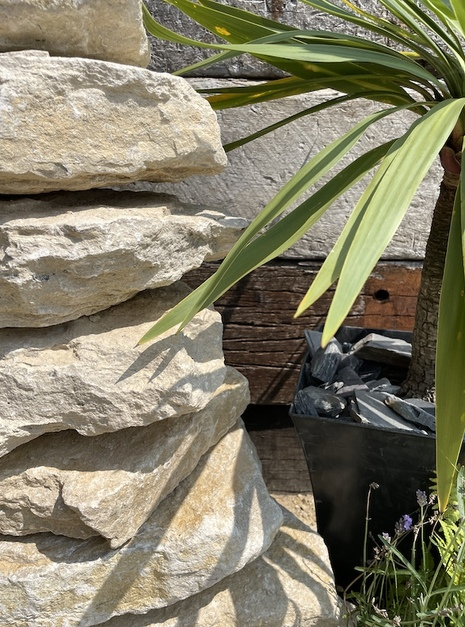 Stone Stack Water Feature SS5   Welsh Slate Water Features 04