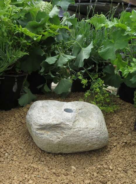 Granite Boulder GB17 Water Feature   Welsh Slate Water Features 01