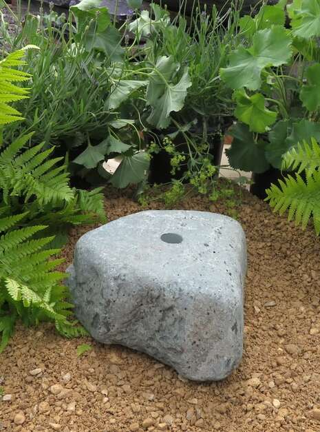 Granite Boulder GB23 Water Feature | Welsh Slate Water Features 04