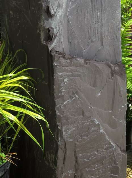 Japanese Monolith JM12 Standing Stone | Welsh Slate Water Features 05