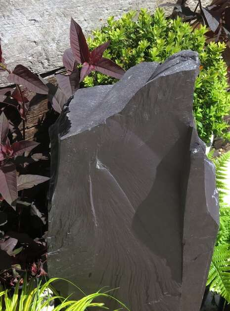 Japanese Monolith JM12 Standing Stone | Welsh Slate Water Features 08