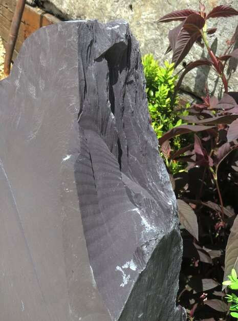 Japanese Monolith JM12 Standing Stone | Welsh Slate Water Features 09