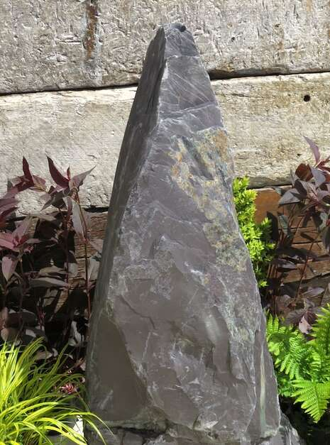Slate Monolith SM156 Water Feature   Welsh Slate Water Features 06