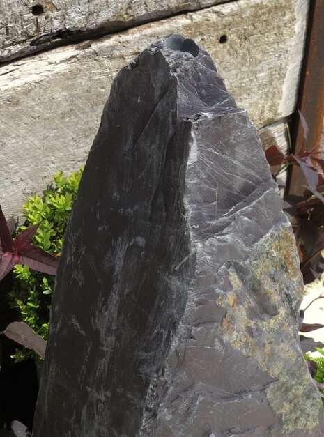Slate Monolith SM156 Water Feature   Welsh Slate Water Features 07
