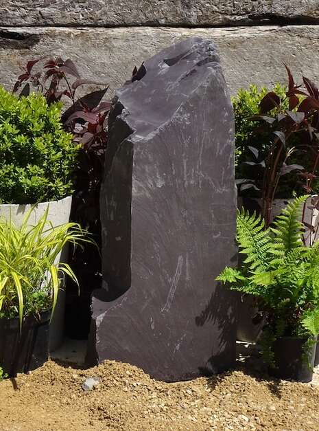 Slate Monolith SM161 Water Feature   Welsh Slate Water Features 03