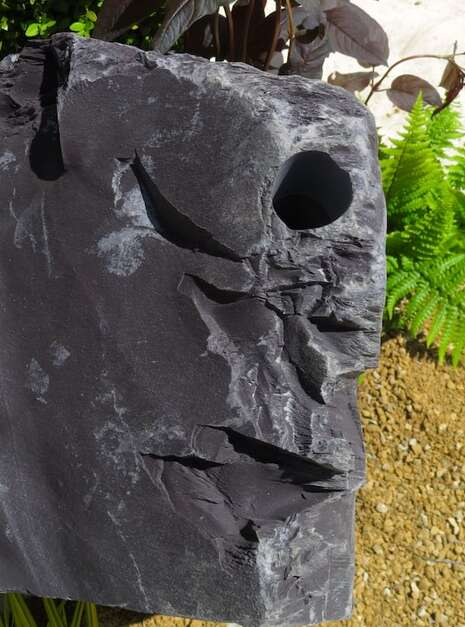 Slate Monolith SM161 Water Feature   Welsh Slate Water Features 07