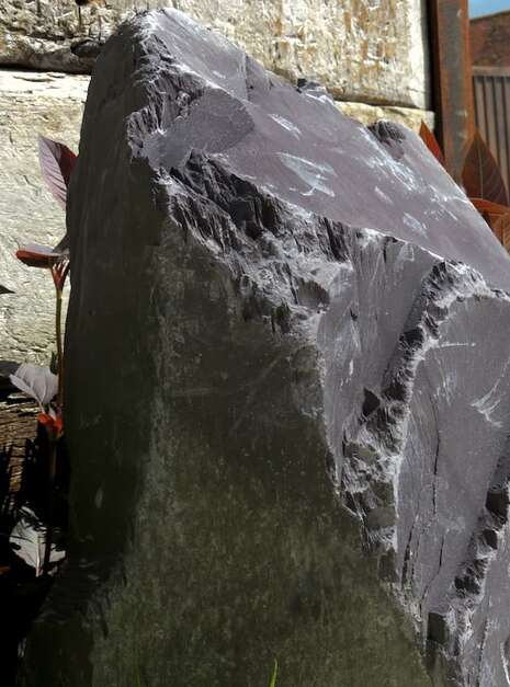 Slate Monolith SM161 Water Feature   Welsh Slate Water Features 09