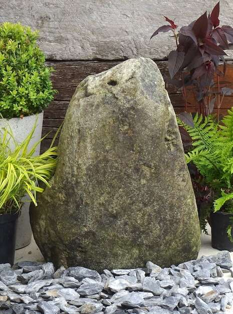 Stone Monolith SM158 Water Feature   Welsh Slate Water Features 03