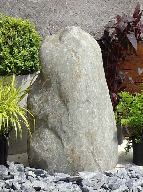 Stone Monolith SM159 Water Feature | Welsh Slate Water Features 01