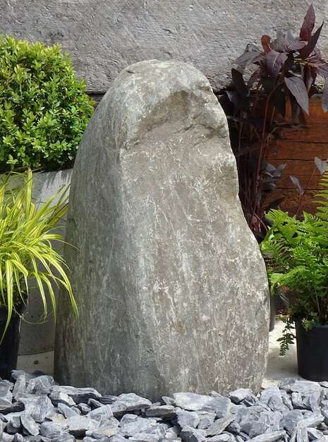 Stone Monolith SM159 Water Feature | Welsh Slate Water Features 02