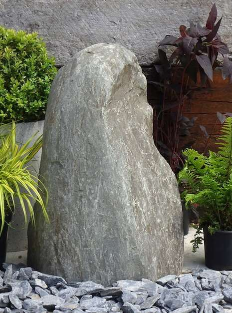 Stone Monolith SM159 Water Feature | Welsh Slate Water Features 03