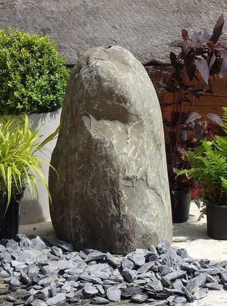 Stone Monolith SM159 Water Feature | Welsh Slate Water Features 04