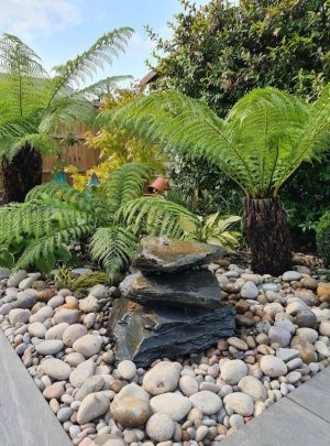 350mm Slate Pyramid Water Feature