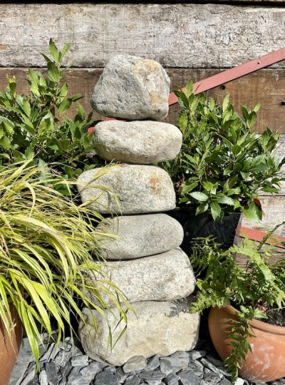 900mm Stone Stack Water Feature SS8