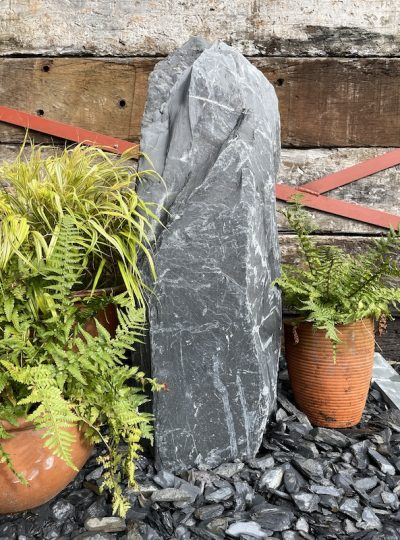 Japanese Monolith JM22   Welsh Slate Water Features